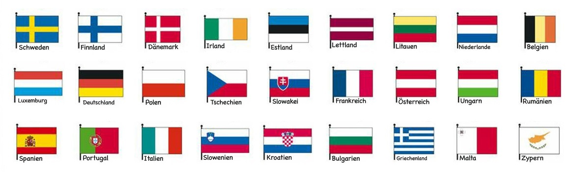 Auflistung aller Länder in welcher die 3te Fuehrerscheinrichtlinie umgesetzt wurde