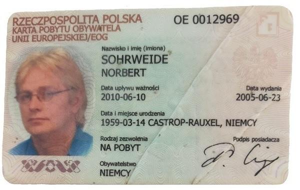 Der amtliche Wohnsitznachweis der polnischen Ausländerbehörde