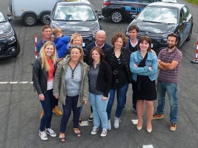 Das Team aus Ungarn, welches die Kunden während des Aufenthaltes betreut.
