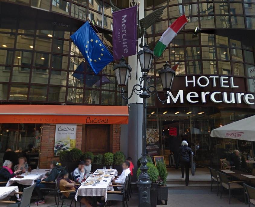 Das Hotel, in welchem für die Kunden die Zimmer für den Aufenthalt gebucht werden.
