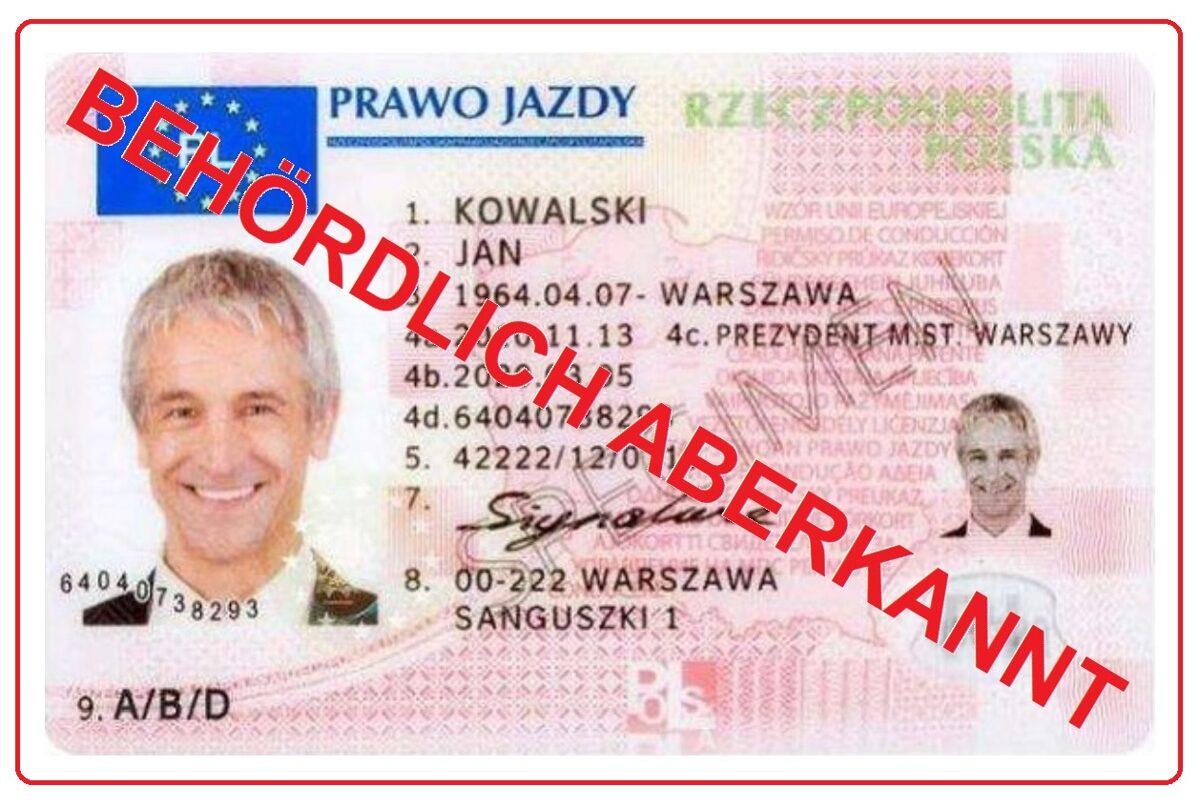 Nur mit echten Wohnsitz ist es möglich einen gültigen EU Führerschein im Ausland zu erwerben. Bei Nichteinhaltung der Verwaltungsvorschriften droht die Entziehung der erteilen europäischen Fahrerlaubnis.