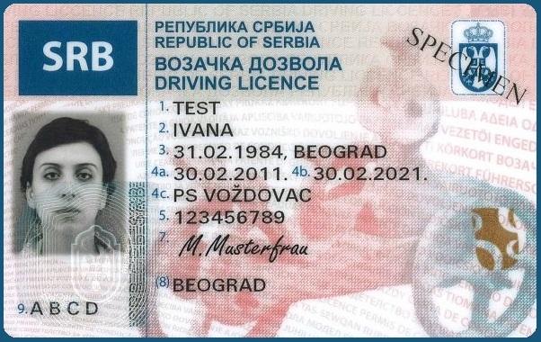 Wenn Sie als Deutscher Bürger in Serbien einen Führerschein erwerben müssen Sie auch einen Wohnsitz haben damit die Fahrerlaubnis auch außerhalb von Serbien anerkannt wird